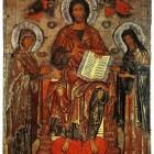 09 Деисус Из церкви Николы-от-Кож в Пскове XIII в