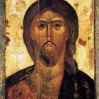 10 Спас оплечный монгольские черты нач XIV в Успенский собор Московского Кремля