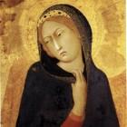 11 Симне Мартини Благовещение Сиена монгольские черты в Западной живописи XIV в
