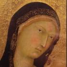 13 Филиппо ди Меммо Богородица Сиена 1350 монгольские черты в Западной живописи XIV в