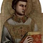 14 Джотто ди Бондоне Св. Стефан монгольские черты в Западной живописи XIV в