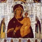 15 Дионисий. Одигитрия со святыми