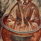 24 Столпник фреска Спаса-на -Ильене, Феофан Грек.  Новгород