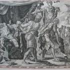 24 Ной и сыновья. Библия Пискатора. 1650