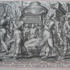 26 Крушение стен Иерихона из Библии Пискатора