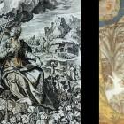 36 Христос и Церковь. Гравюра и фреска ц. Воскресения в Тутаево