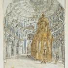44 Новоиерусалимский храм. Интерьер Растрелли
