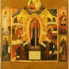 51 Всех скорбящих Радость. Палех. XVIII в.