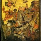 52 св. Георгий. Палехская икона. XVIII в.