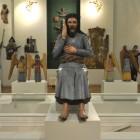 Христос в темнице. Христос в одежде мученика, которая близка к обычной одежде коми-пермяцких крестьян