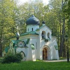 05 Васнецов. Храм Спаса-Нерукотворного Образа в Абрамцево