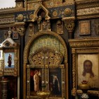 06 Васнецов. Храм Спаса-Нерукотворного Образа в Абрамцево  иконостас