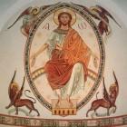 08 Архимандрит Зинон. Шеветоньский монастырь. Роспись апсиды