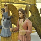 «Небесное воинство» резчика Никона Кирьянова, начало XX в.