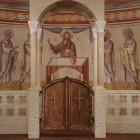 14 Нижний храм Феодоровского собора. Надпрестольная сень