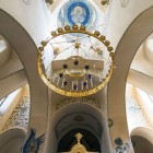14 Щусев. Покровский храм Марфо-Мариинской обители, интерьер