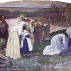 16 Нестеров. Русь встречает Христа