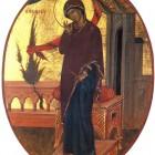 24 А.Соколов. Благовещение. Богородица