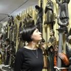 Хранитель коллекции пермской деревянной скульптуры Евгения Шабурова