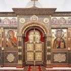 39 А.Лавданский: иконостас нижнего храма церкви Троицы-в-Никитниках