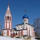 45 Современные храмы. Церковь иконы Божией Матери Скоропослушница.  Поселок Чурилково.