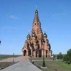 51 Крестовоздвиженский собор в Лесосибирске.