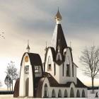 55  Церковь во имя Преподобного Амвросия Оптинского.  Самара.