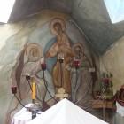 67 Казанский скит. Алтарная фреска Воскресения