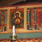 77 Стеллецкий. Свято-Сергиевское подворье. Париж. Фрагмент иконостаса