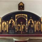 78 Иконостас Тихвинского придела в храме св. Николая в Голутвино.