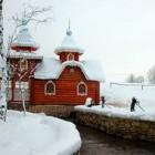 Каложицы источник св. Пантелеимона зимой