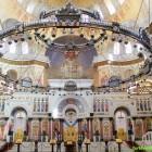 Кронштадт Морской собор внутри иконостас