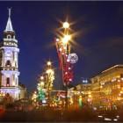 Невский проспект Новый год