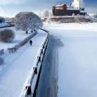 Выборг зима