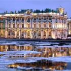 Зимний дворец зима