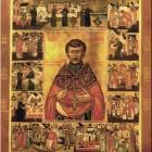 Иоанн Кочуров Царскосельский икона с житием