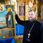 Курицко икона Михаил Клопский и о. Александр Фролов