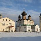Мартирий Зеленецкий монастырь зима