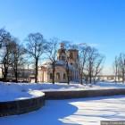 Шлиссельбург храмы зима
