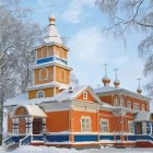 Важеозерский монастырь зима 1