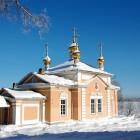 Важеозерский монастырь зима 2