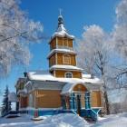 Важеозерский монастырь зима 3