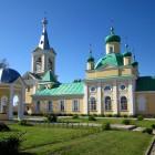 Введено-Оятский монастырь лето