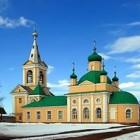Введено-Оятский монастырь зима