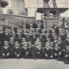 Команда крейсера.1904-05 г.