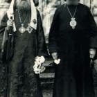 Святейший Патриарх Тихон и Местоблюститель Патриаршего Престола митрополит Крутицкий Петр (Полянский)