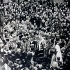 Петроград. Встреча Патриарха у Исаакиевского Собора