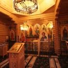 Андреевский скит Александро-Невской лавры внутри храма
