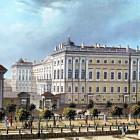Аничков дворец старая картинка