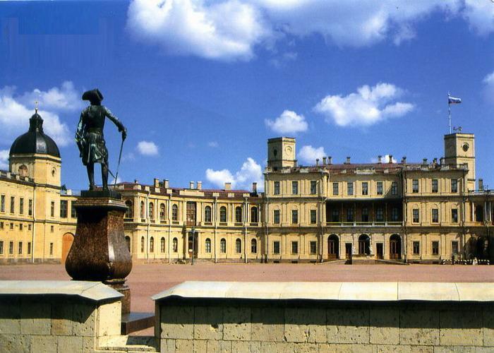 Приоратский дворец (приорат) на гатчине